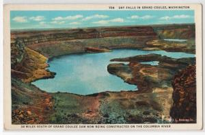 Dry Falls in Grand Coulee WA