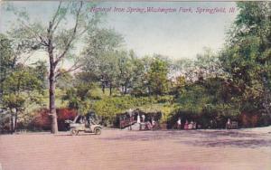 Illinois Springfield Natural Iron Spring Washington Park