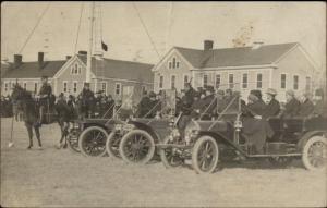 Chattanooga TN Cancel Chickamauga? Cars Bldgs Horses President Cuba 1910 RPPC