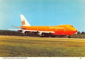 Braniff Internationa Airways Boeing 747 -