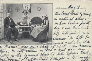 Netherlands Hindeloopen Familie O Van Elselo 1901
