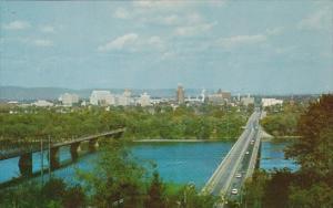 Panorama View Of Harrisburg Pennsylvania