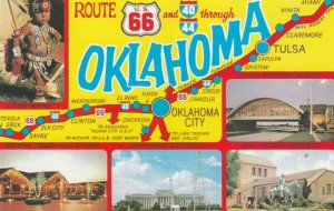 OKLAHOMA, 50-60s ; Route 66 through Oklahoma
