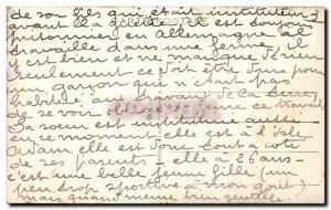 Old Postcard L & # 39Isle Adam Le Bras du Moulin