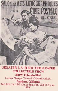 Greater Los Angeles Postcard and Paper Collectable Show 1986