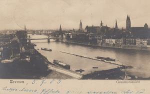 RP;  Breman, Germany, Gesammtansicht, 1905