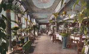 Washington Spokane Main Dining Room Davenport's Restaurant 1908