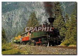 Postcard Modern Montafonerbahn Bludenz-Schruns MBS