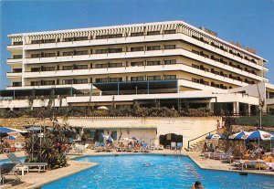 B108280 Cyprus Bella Napa Bay Hotel Ayia Napa Swimming Pool real photo uk