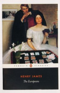 Henry James The Europeans 2008 Book Postcard