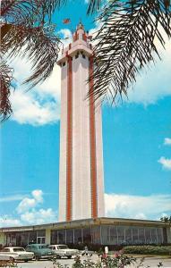 Clemont Florida~Citrus Tower~1950s Postcard