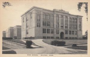 MILFORD , Connecticut, 1900-10s; High School