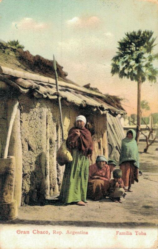 Gran Chaco Rep Argentina Familia Toba 02.10