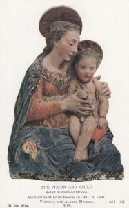 The Virgin and Child, Ascribed to Mino da Fiesole, 1900-10s