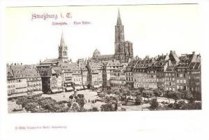 Strassburg i. E. , Kleberplatz, Germany (Now France), 1890s