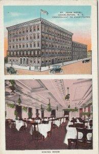 CHARLESTON, South Carolina, 1900-10s; St. John's  Hotel & Dining Room