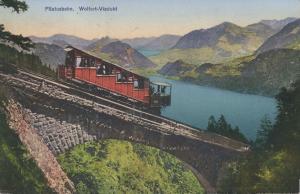 switzerland, Pilatusbahn Mountain Rack Railway, Wolfortviadukt (1910s)