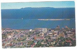 Bird's Eye view Of ''Sleeping Giant'', Port Arthur, Ontario, Canada, 40-60s