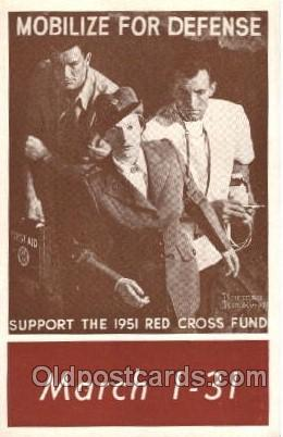 Artist Signed Norman Rockwell, Postcard Postcards National Red Cross Artist N...