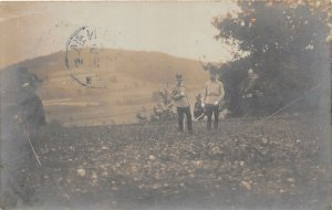 Lot 81   austria Royalty Franz Joseph  real photo military soldier 1907 General