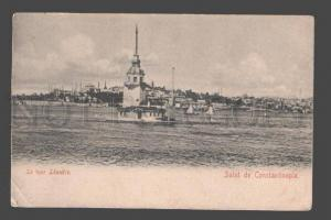 085183 TURKEY CONSTANTINOPLE Le tour Leandre Vintage PC