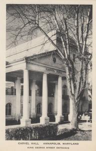 ANNAPOLIS, Maryland, 00-10s; Carvel Hall #2