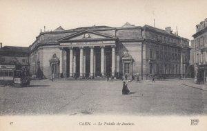 CAEN, France, 1910-1920s, Le Palais de Justice
