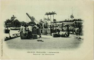 CPA TAMATAVE Le Debarcadere MADAGASCAR (709658)