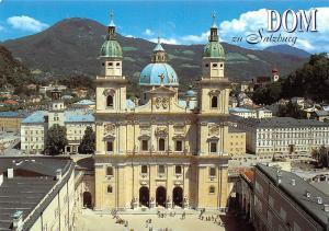 Dom zu Salzburg The Cathedral Erbaut nach Planen von Santino Solari