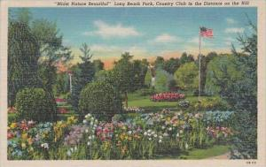 Indiana Michigan City  Midst Nature Beautiful Long Beach Park Country Club In...