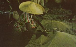 HAITI, West Indies, 40-60s; Rice Vendor, Aux Cayes