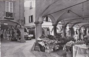 Switzerland Lugano Portici di Via Pessina Market Scene Photo