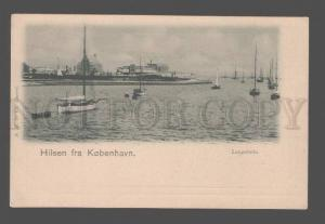 081269 DENMARK Hilsen fra Kobenhavn Langelinie Vintage PC