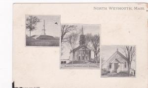 NORTH WEYMOUTH, Massachusetts, 1910s-20s; 3- views