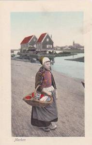 Marken , Netherlands , 00-10s : one girl