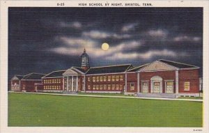 Bristol High School By Night Bristol Tennessee