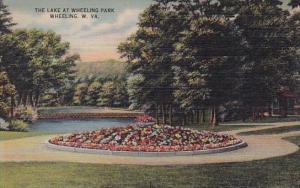 The Lake At Wheeling Park Wheeling West Virginia