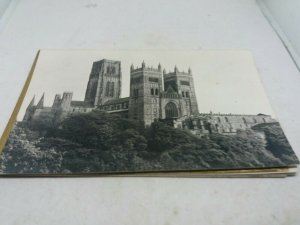 6x Vintage Durham Cathedral Standard Size Postcards