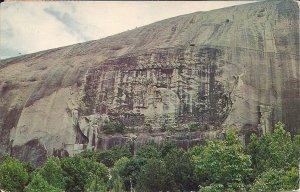 Atlanta GA, Confederate Monument, Stone Mountain 1959, Lee, Jackson, Davis