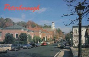 New Hampshire Peterborugh Main Street