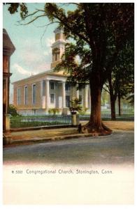 Connecticut Stonington , Congregational Church
