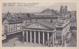 Belgium Brussels Money's Theatre Opera