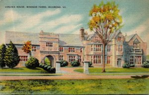 Virginia Richmond Windsor Farms Virginia House 1947
