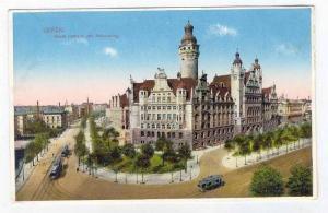 Liepzig , Germany, 00-10s   Neues Rathaus und Rathausring
