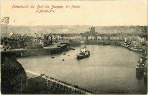 CPA Panorama du Port de DIEPPE - L'Avant-Port (105251)
