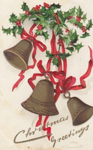 CHRISTMAS ; 3 Bells , 1908 ; CLAPSADDLE