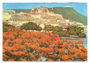 Fuerte San Felipe de Barajas y Cerro de la Popa, Cartagena, Colombia, 50-70s