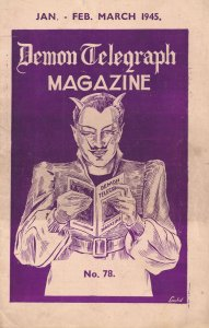 Demon Telegraph Magazine Davenports Chronometer Trick WW2 Magic Book