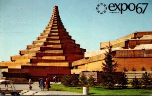 Canada Montreal Expo67 Man In The Community and Man and His Health Complex 1967