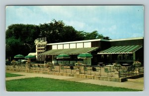 Chicago IL, Morton's Restaurant, Chrome Illinois Postcard